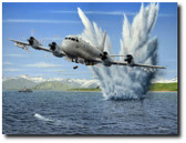"""""""Madman II"""" Aviation Art by Don Feight - P-3 Orion"""