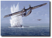 Cats Have Claws by Don Feight - WW II PBY Catalina