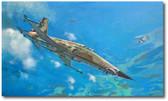 A View to Kill by Bryan David Snuffer - F-5N Tiger II Aviation Art