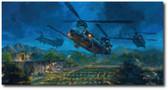 Death Waits in the Dark by Bryan David Snuffer Aviation Art