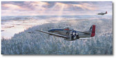 George Preddy's Last Chase by Jim Laurier - Focke-Wulf Fw 190