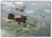 Richthofen Downs Lance Hawker by Jim Laurier