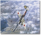 Toryu 1 by Jim Laurier- Japanese Kawasaki Ki-45 , B-29 Superfortresses