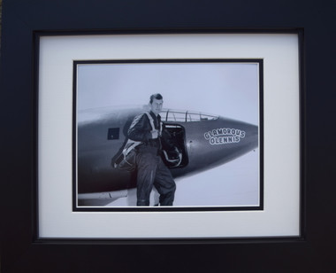 Chuck Yeager with the Bell X-1
