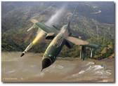 All Out Warrior by Mark Karvon-  F-105 Thunderchief