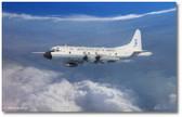 Eye of the Hurricane by Mark Karvon - Lockheed WP-3D Orion Aviation Art