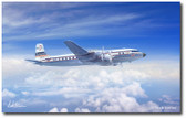 Golden Age Propliner by Mark Karvon- Douglas DC-7