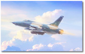 Heading North by Mark Karvon- Republic F-105 Thunderchief Aviation Art