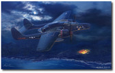 Lady in the Dark by Mark Karvon- Northrop P-61 Black Widow