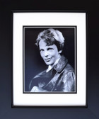 Amelia Earhart in Leather Jacket Aviation Art