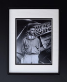 Charles Lindbergh with Spirit of St. Louis Aviation Art