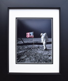 Apollo Astronaut with U.S. Flag