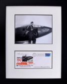 Glamorous Glennis with Chuck Yeager and First Day Envelope