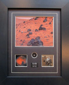 Mars Images with Meteor Specimen
