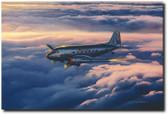 Fifty Years a Lady by Craig Kodera - Douglas DC-3  Aviation Art