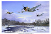 Angie & Company by Mark Karvon - Republic P-47 Thunderbolt  Aviation Art