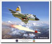 F-106 Delta Dart  5th FIS by Mark Karvon