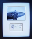 Chuck Yeager with Signed First Day Envelope ( VE Day)
