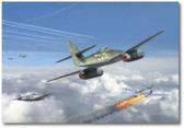 HEINZ BAR by Jim Laurier - Me-262 - P-47s