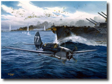 Too Close For Comfort by Tom Freeman - Helldiver