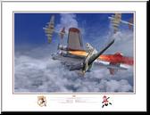 Komet! by Jack Fellows - Messerschmitt Me-163B Komet  Aviation Art