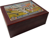 Keep 'Em Flying - P-51 Mustangs for Victory Humidor