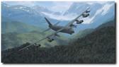Mountain Fortress by Dru Blair - B-52 Stratofortress