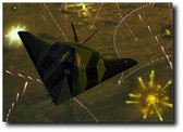 Night Knight by Andrew Probert - Lockheed F-117 Stealth Fighter Aviation Art