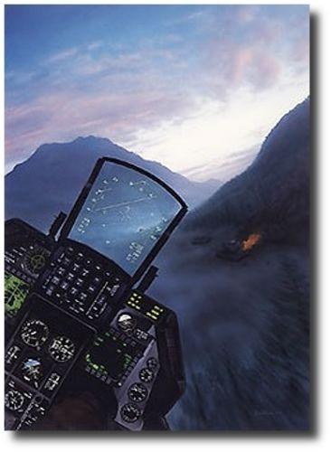 Falcon Sunrise  by Dru Blair  - F-16 Fighting Falcon