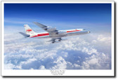 Flask Across The Sky by Mark Karvon - Convair 880
