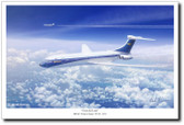 Graceful Lady by Mark Karvon  Vickers Super VC10 Aviation Art