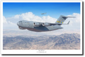 The Moose by Mark Karvon – C-17 Globemaster III Aviation Art