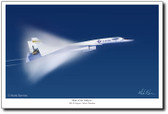 Ride of the Valkyrie by Mark Karvon – XB-70 Valkyrie Aviation Art