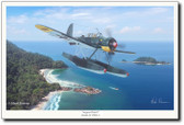 Aegean Patrol by Mark Karvon – Ar 196 Aviation Art