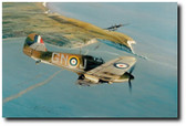 Hurricane Attack by Robert Taylor Aviation Art