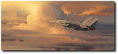 Into the Throne Room of God by William S. Phillips - F-14 Tomcat Aviation Art