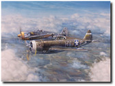 Not My Turn To Die by Jim Laurier - P-47C Thunderbolt