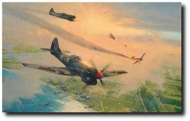 The Final Show by Robert Taylor - Aviation Art
