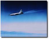 BELL X-2 In Flight