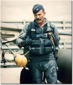 Gen. Robin Olds In Flight Suit Aviation Art Aviation Art
