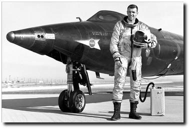 Joe Engle With The X-15