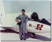 "Bell X-2 ""Starbuster"" on the Lakebed with Pete Everest Jr."