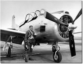 R.A. Bob Hoover in Flight Gear - T-28 Trojan - Reno Air Races