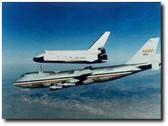Space Shuttle Enterprise Landing Test - Photo