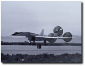 XB-70 Landing With Parachutes Deployed