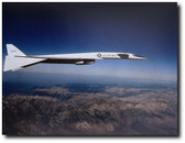 XB-70 Over The Mountains - Photo