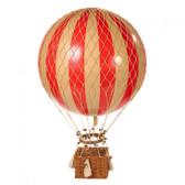 Hot Air Balloon - Jules Verne Balloon, True Red