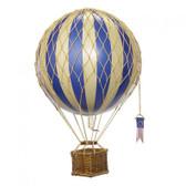 Hot Air Balloon - Travels Light, Blue