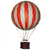 Hot Air Balloon - Floating The Skies, True Red