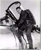 R.A. Bob Hoover in Flight Gear - F-100 - Reno Air Races